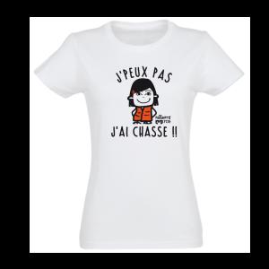 J PEUX PAS J AI CHASSE Femme