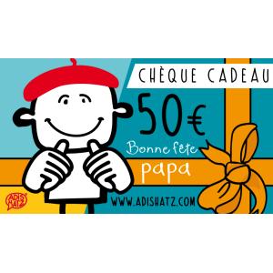 Chèque Cadeau électronique / E Carte